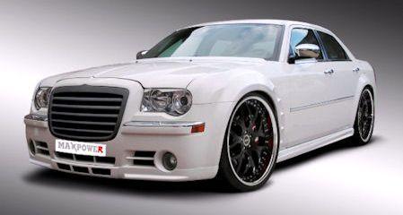 MaxPower Chrysler 300C 2 in MaxPower Chrysler 300C: Das neue Gesicht der Gangster-Limousine