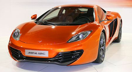 McLaren MP4 12C 2 in McLaren MP4-12C: Das giftige Kick-off des neuen Supersportwagens