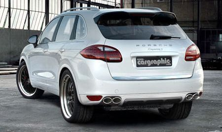 Porsche Cargraphic Cayenne S Hybrid 1 in Cargraphic Porsche Cayenne S Hybrid: Doping für den Vollhybriden