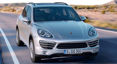 Porsche Cayenne Web in Porsche Cayenne II: Stark gespart mit neuen V6-Motoren