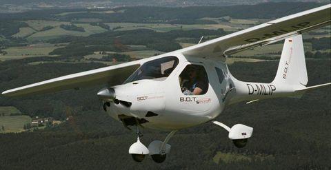 SC07-Speed-Cruiser in 230 km/h in der Luft: Ultraleicht-Flugzeug SC07 Speed Cruiser