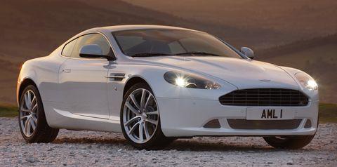 Amdb91c in Facelift für den Aston Martin DB9
