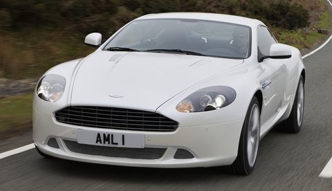 Amdb92c in Facelift für den Aston Martin DB9