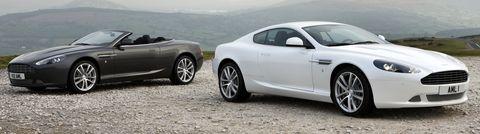 Amdb9 Vc in Facelift für den Aston Martin DB9