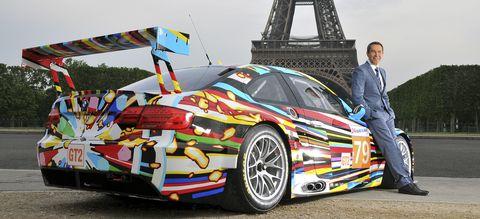 Artcar31 in Video: BMW mit der Art Car Collection