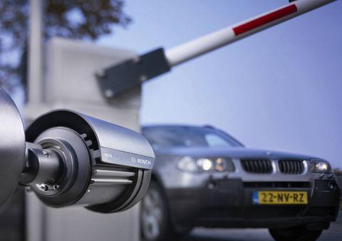 Bosch in Zufahrtskontrolle: Unbefugte bleiben draußen