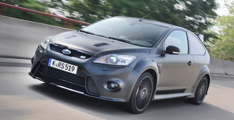 Fordfocusrs500 in Video: Ford Focus RS500