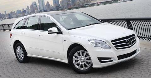 Mercedesrklasse in Video: Facelift für die Mercedes R-Klasse