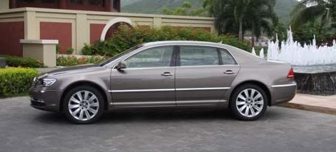 Phaeton in Video: Neuer VW Phaeton rollt durch China