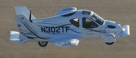 Terrafugia1 in Terrafugia: Grünes Licht für fliegendes Auto