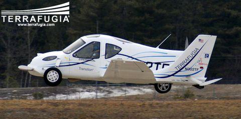 Terrafugia3 in Terrafugia: Grünes Licht für fliegendes Auto
