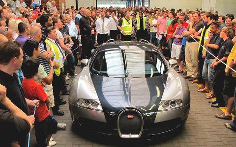 Veyron in Bugatti Veyron wechselt für 760.000,- Euro den Besitzer