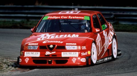 Alfa-Romeo-155-2 in Goodwood: 16 klassische Alfa Romeo-Modelle beim Festival of Speed