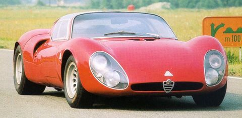 Alfa-Tipo-33-stradale-1967 in Goodwood: 16 klassische Alfa Romeo-Modelle beim Festival of Speed