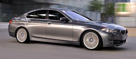 BMW 5er F10 2 in BMW 5er Limousine F10: Premiere für Sport-Diesel 535d und Allrad