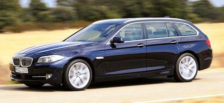 BMW 5er Touring 2 in BMW 5er Touring F11: Mit neuen Motoren richtig in Fahrt