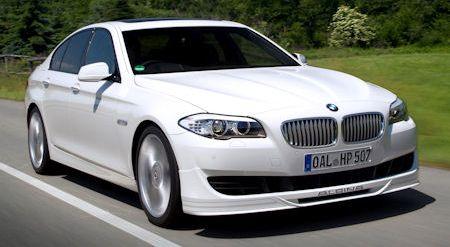 BMW Alpina B5 Biturbo 2 in BMW-Alpina B5 Biturbo: Die neue messerscharfe Performance-Limousine