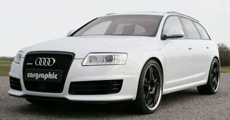Cargraphic Audi RS6 Avant 2 in Cargraphic Audi RS 6: Mächtig stark und verboten laut