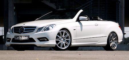 Carlsson Mercedes E Klasse Cabrio 2 in Carlsson Mercedes E-Klasse Cabrio: Offen für neue Höchstleistungen