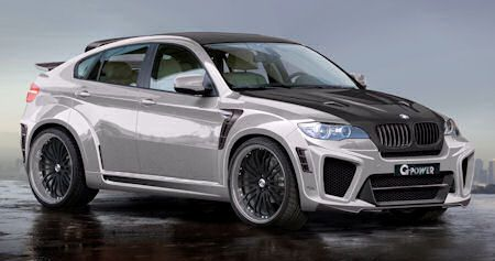 G Power BMW X6 M Typhoon RS Ultimate V10 2 in G-Power X6 Typhoon RS Ultimate V10: BMW X6 M wird über 330 km/h schnell