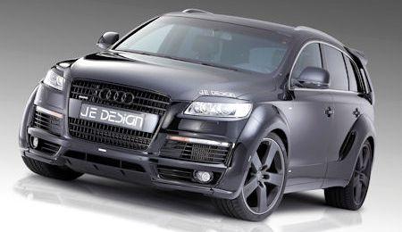 JE Design Audi Q7 S Line 2 in JE Design Audi Q7 S-Line: Der schwarze Raubritter für die Straße