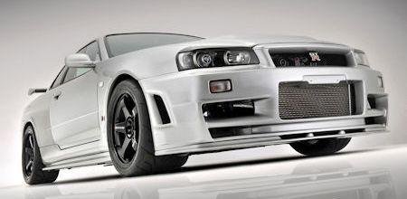 Japo Nissan Skyline R34 GTR 2 in Japo Nissan Skyline R34 GT-R: Legenden sterben nie