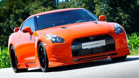 Koenigseder Nissan GTR 2 in Königseder Nissan GT-R: Schärfer als Wasabi