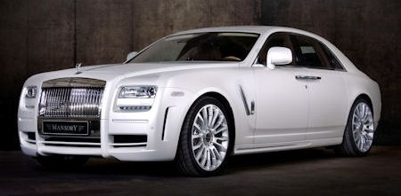 Mansory Rolls Royce White Ghost Limited 2 in Mansory Rolls-Royce White