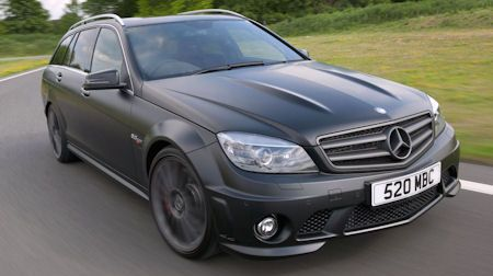 Mercedes C 63 AMG DR 520 1 in Mercedes C 63 AMG DR 520: Scharfer Stealth-Look mit satter Extra-Power