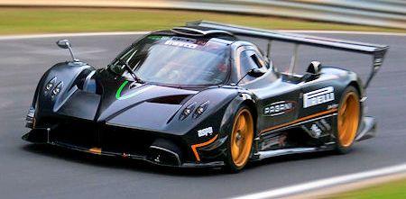 Pagani Zonda R 2 in Pagani Zonda R holt neuen Rekord auf Nürburgring-Nordschleife