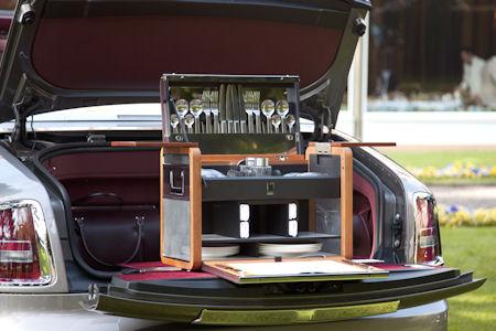Rolls Royce Picknick Set 2 in Rolls-Royce Picknick-Set: Kein Fast Food aus Goodwood
