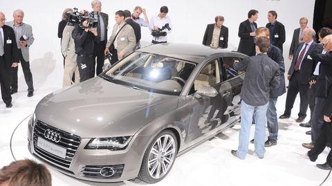 Audi-a7-10 in Audi A7 Sportback: Schnelle, schöne Geburt