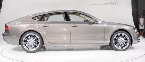 Audi-a7-6 in Audi A7 Sportback: Schnelle, schöne Geburt