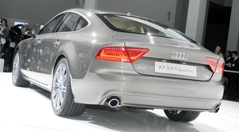 Audi-a7-8 in Audi A7 Sportback: Schnelle, schöne Geburt
