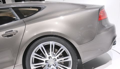 Audi-a7-9 in Audi A7 Sportback: Schnelle, schöne Geburt