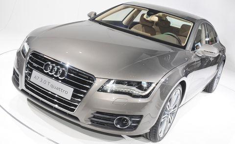 Audi-a7 in Audi A7 Sportback: Schnelle, schöne Geburt