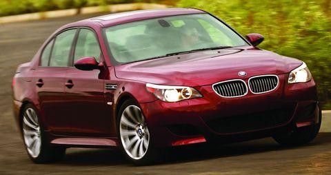 Bmw-m5 in BMW M5 geht in Rente