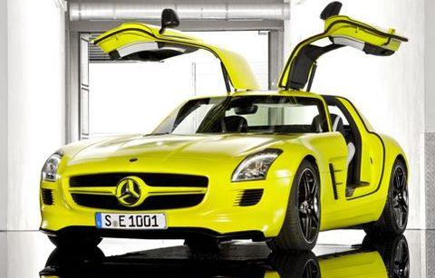 E-cell-sls-amg in Video: Mercedes SLS AMG E-Cell