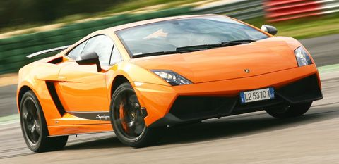 Lamborghini-gallardo in Lamborghini: Forschungen an Kohlefaser-Technologie in Sant'Agata Bolognese
