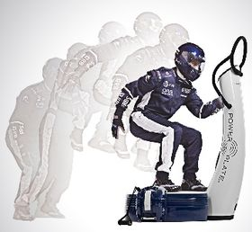 Williams-f1-power-plate in Edel-Fitness: Williams F1 Power Plate
