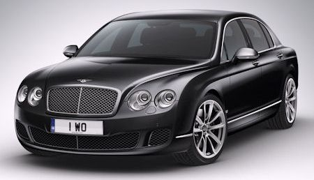 Bentley Continental Flying Spur Speed Arabia 2 in
