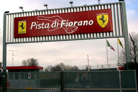 Ferrari Fiorano Track 1 in Ferrari-Teststrecke Pista di Fiorano für Besucher geöffnet