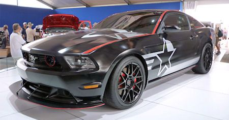 Ford SR 71 Mustang 2 in Ford SR-71 Mustang: Shelby, Roush und die Inspiration Air Force