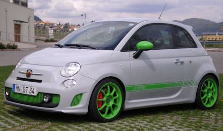G Tech Fiat 500 Abarth RS S 2 in G-Tech Fiat 500 Abarth RS-S: Ein kleiner gedopter Italiener