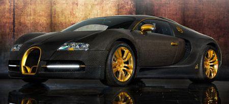 Mansory Bugatti Veyron Linea Vincero Oro 2 in Mansory Bugatti Veyron Vincerò d'Oro: Der ultimative Golden Boy