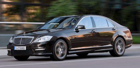 Mercedes S 63 AMG in Mercedes S 63 AMG: Neues Power-Triebwerk für Quantensprung