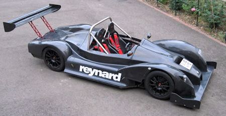 Reynard Inverter 2 in Reynard Inverter Road Car: Der Rennwagen mit Nummernschild