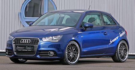 Senner Audi A1 2 in Senner Audi A1: Der sportlich frisierte Mini-Audi