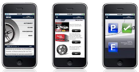 Ac-schnitzer-iphone-app in Tuning-App fürs iPhone von AC Schnitzer