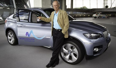 Bogner-x6-3 in Willy Bogner bringt den BMW ActiveHybrid X6 für Olympia ins Spiel